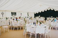 A stunning Marquee.
